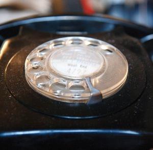 Old-school telephone