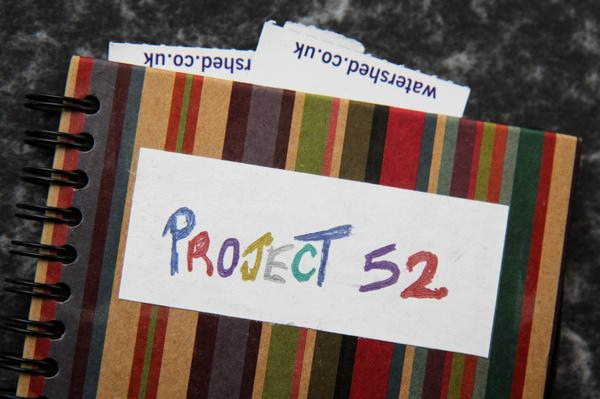 Project 52 Notebook