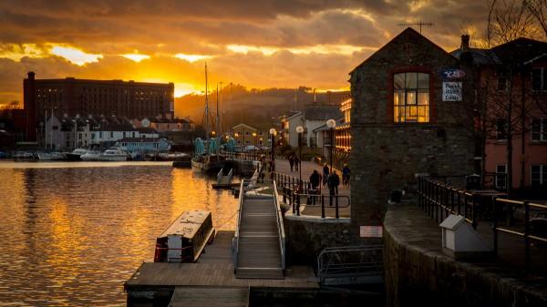 Poole's Wharf Sunset