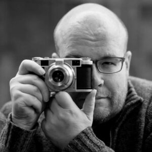 Matt with the Lordomat rangefinder