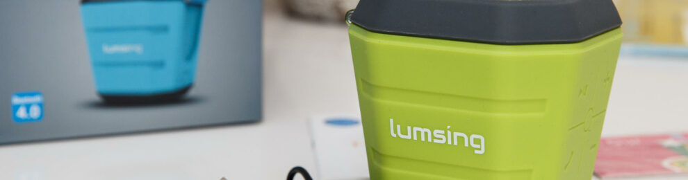 Review Corner: Lumsing Portable Waterproof Bluetooth Speaker