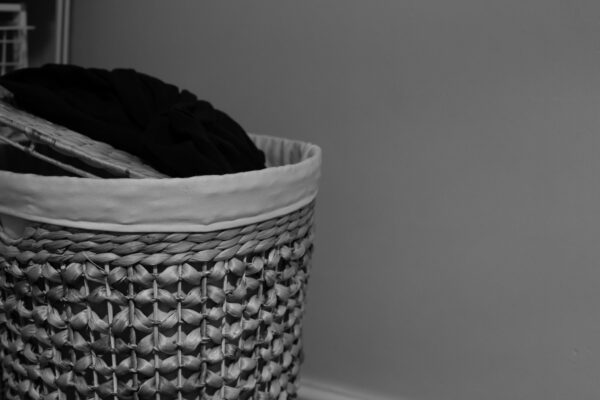 Test Shot of Laundry Basket