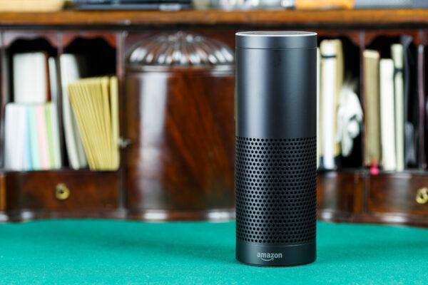 Amazon Echo on Desk
