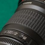 Canon 135mm f/2 settings