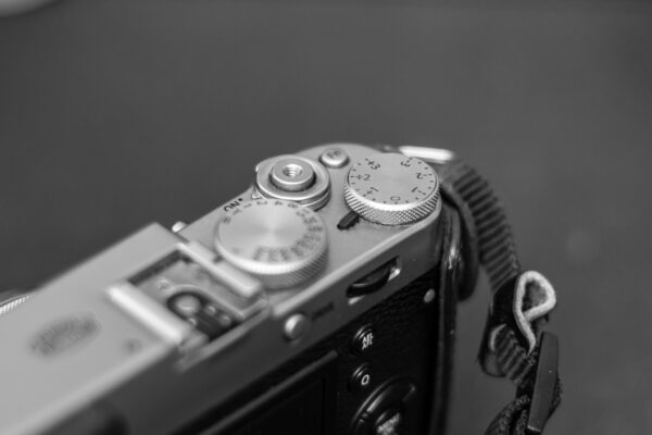 X100T Exposure Compensation Dial