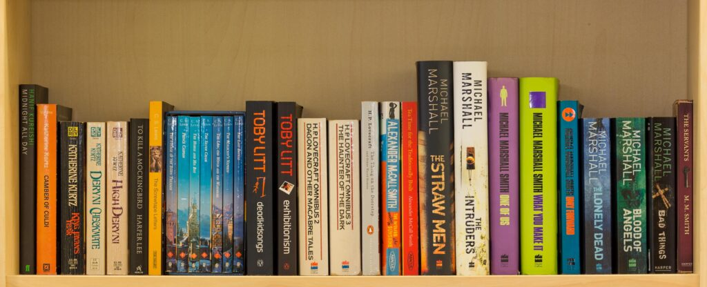 Alphabetical books