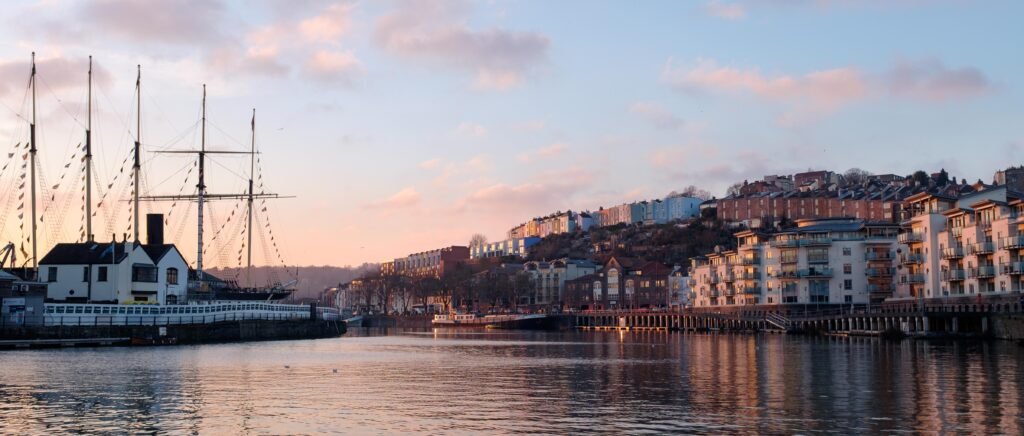 Sunset, Bristol Harbourside