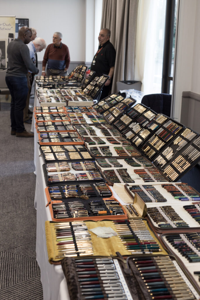 A small section of the South West Pen Show