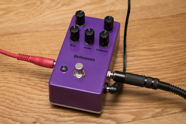 Finished pedal