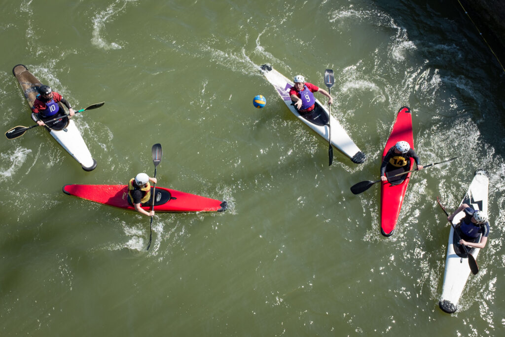Canoe water polo