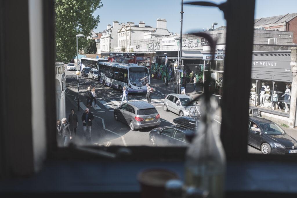 Zebra crossing, Regent Street, Clifton Village