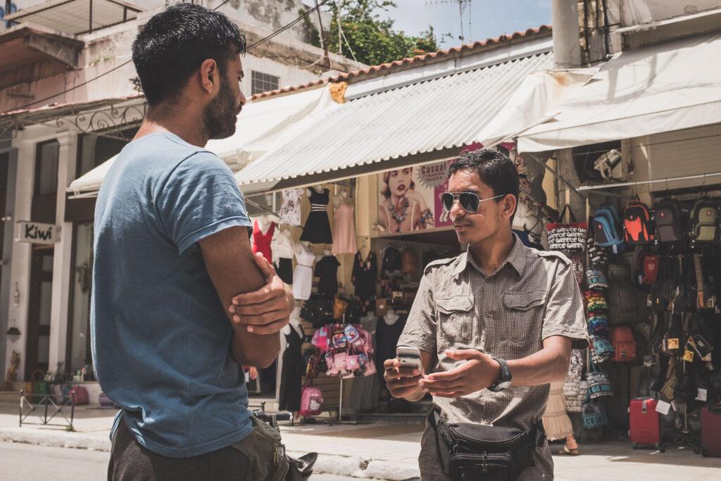 Street scene, Chania, Crete