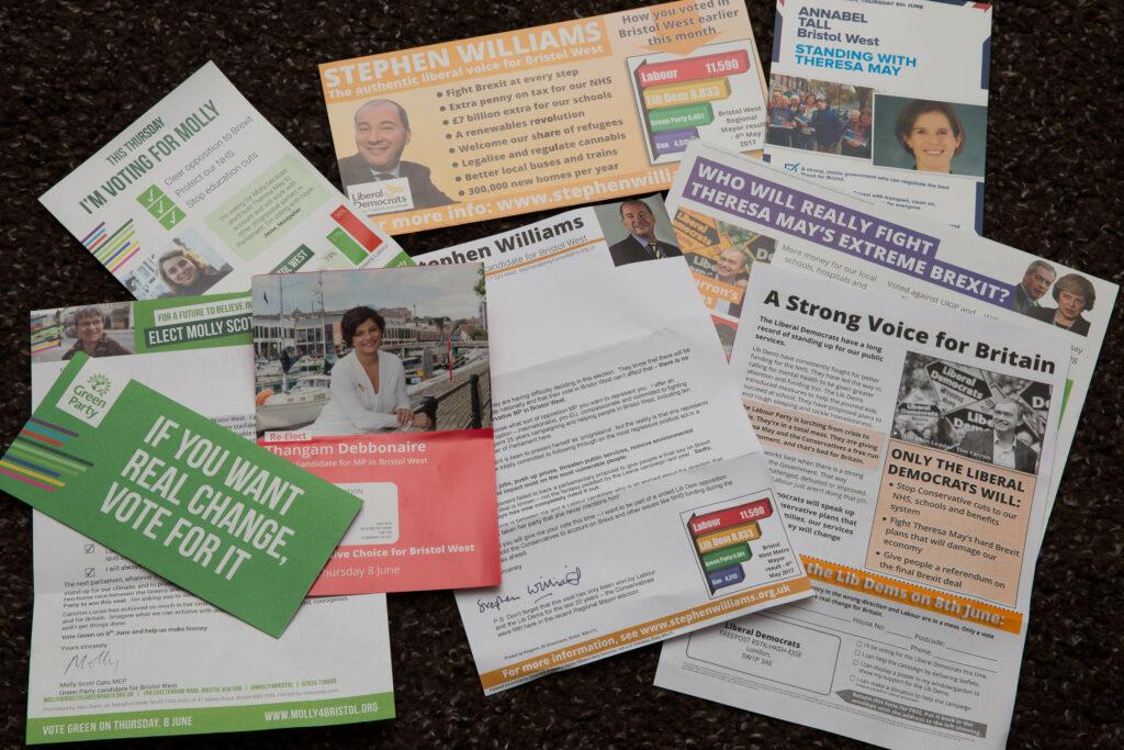 Political leaflets