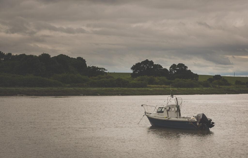 Fishing Boat at Sea Mills