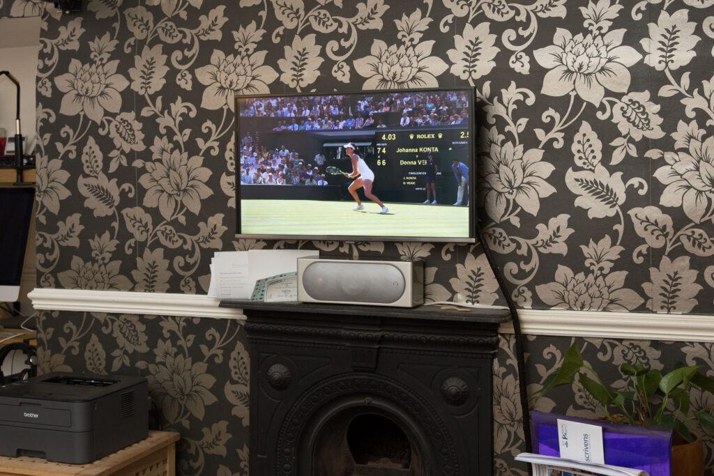 Wimbledon on t'telly