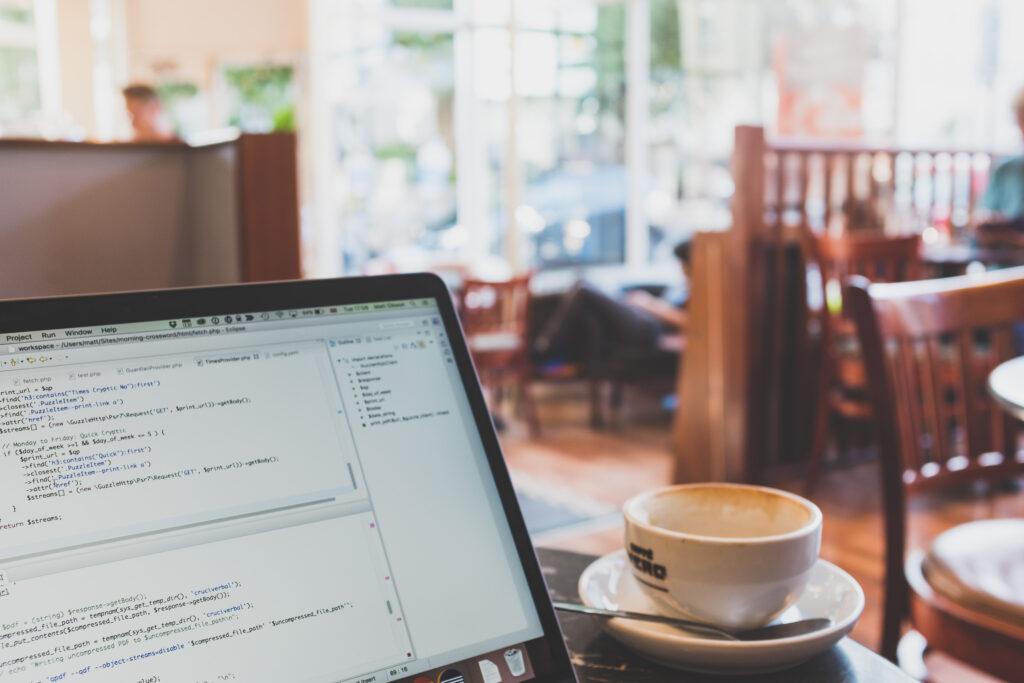 Coding in Caffe Nero
