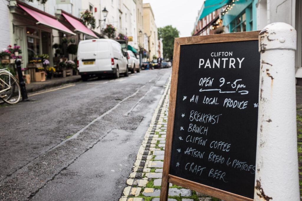 Clifton Pantry A Board