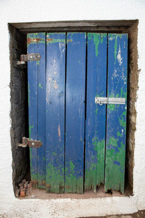 Tatty old door
