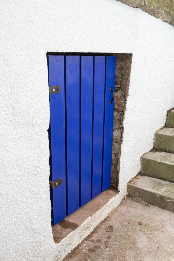 New door in situ